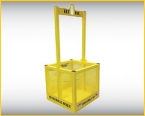 """material lift for construction"",""Material Baskets"",""material crane basket"" by elt"