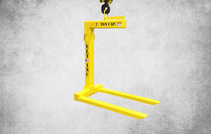 ELT's fixed crane fork