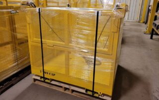 Custom crane basket ELT