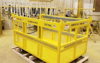 Custom Crane Baskets by ELT Lift
