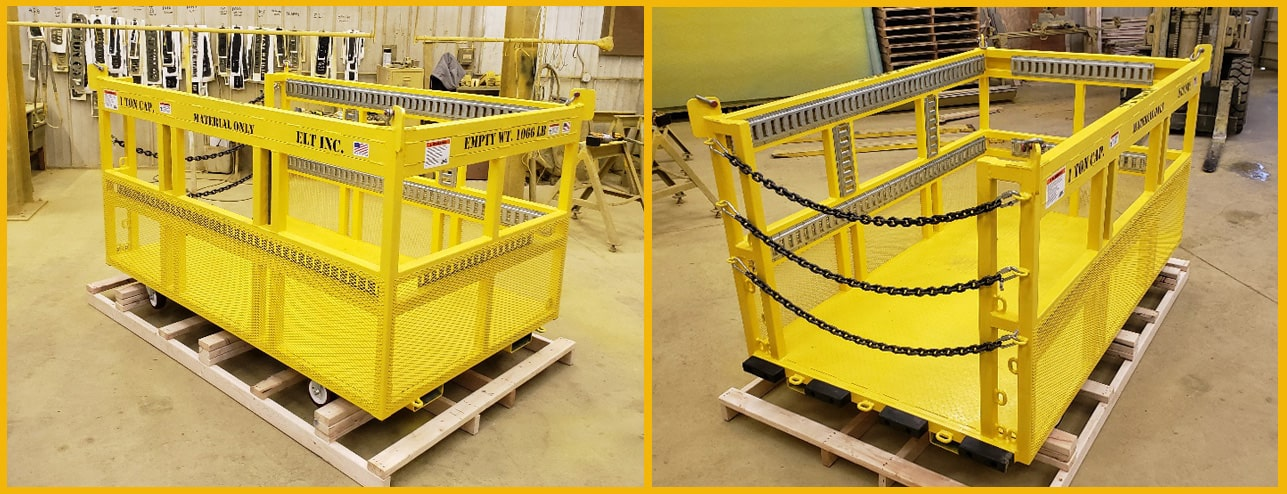 New Crane Baskets by ELT Lift